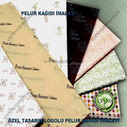 logo baskılı ve düz Pelur kağıdı imalatı